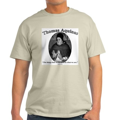 Thomas Aquinas 04 Light T-Shirt