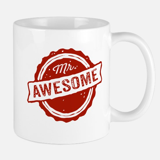Mr. Awesome Mugs