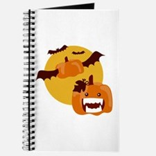 Bat Winged Pumpkin Journal