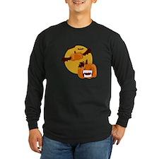Bat Winged Pumpkin Long Sleeve T-Shirt