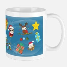 Christmas Owls Mugs