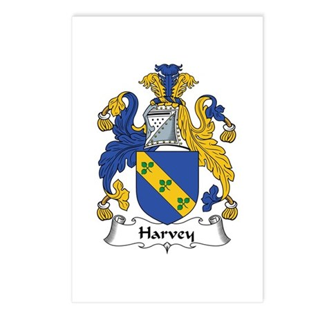 Harvey Postcards (Package of 8)