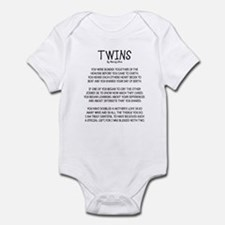 twinsoutline Body Suit