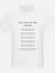 godmadelittleboysoutline [Converted] T-Shirt