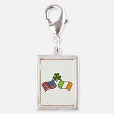 American Irish Flag Charms