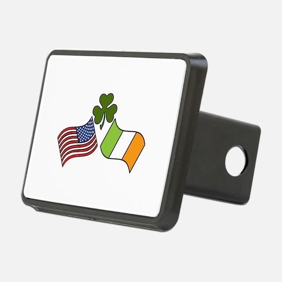 American Irish Flag Hitch Cover