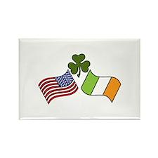 American Irish Flag Magnets
