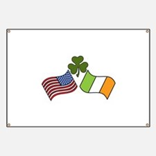 American Irish Flag Banner