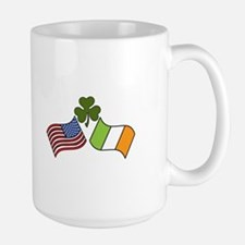 American Irish Flag Mugs