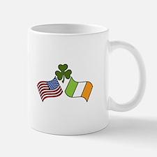 American Irish Flag Mugs