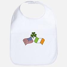 American Irish Flag Bib