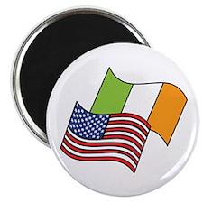 Irish American Flag Magnets
