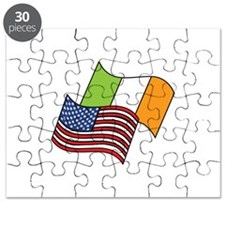 Irish American Flag Puzzle