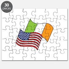 Irish American Flag Puzzle