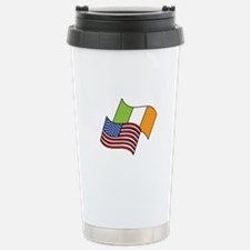 Irish American Flag Travel Mug