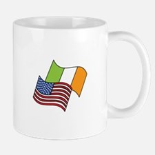 Irish American Flag Mugs