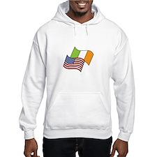 Irish American Flag Hoodie