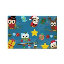 Christmas Owls Magnets