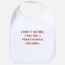 professional-grandma-bod-red Bib
