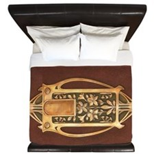 art nouveau booklet King Duvet