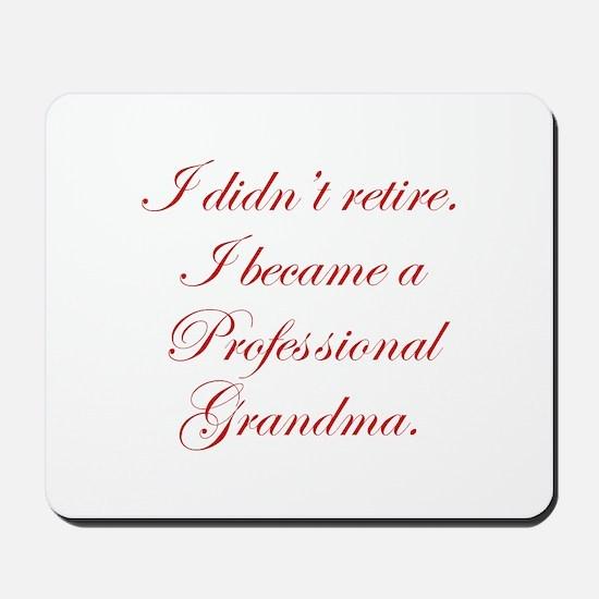 professional-grandma-edw-red Mousepad