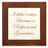 Grandma Framed Tiles