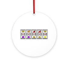 Groom (Las Vegas Casino Slots) Ornament (Round)
