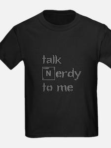 talk-nerdy-to-me-heart-gray T-Shirt