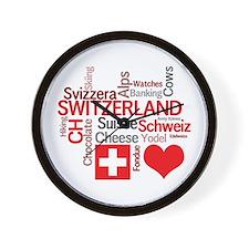 Cute Suisse Wall Clock