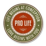 Pro life Car Magnets