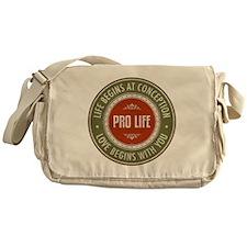 Pro Life Messenger Bag