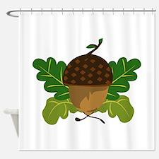 Fall Acorn Shower Curtain
