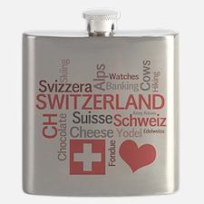 Unique Schweiz Flask