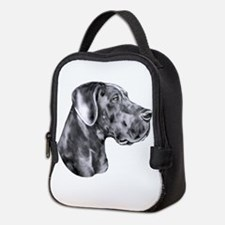 Great Dane HS Blue UC Neoprene Lunch Bag