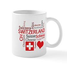 I Love Switzerland Mugs