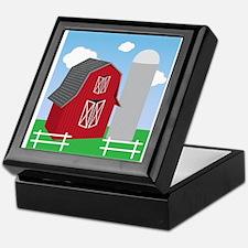 Farm Keepsake Box