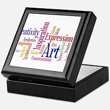 Cute Artists Keepsake Box