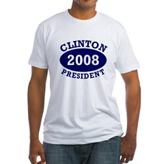 Clinton President 2008 Shirt
