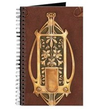 Art nouveau booklet Journal