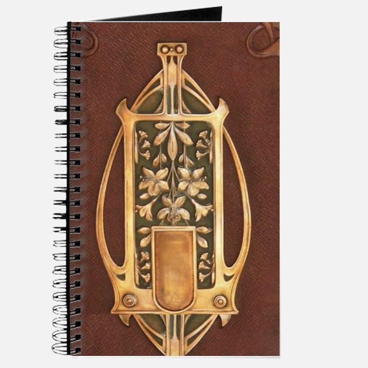 Art nouveau booklet Journal