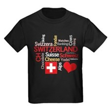 I Love Switzerland T-Shirt