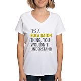 Boca raton thing Womens V-Neck T-shirts