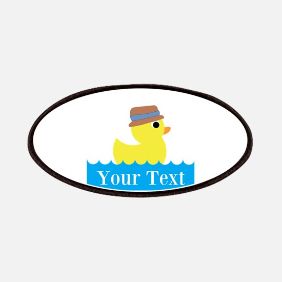 Personalizable Rubber Duck Patches