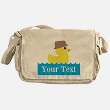 Personalizable Rubber Duck Messenger Bag