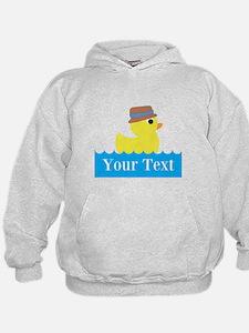 Personalizable Rubber Duck Hoodie