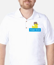 Personalizable Rubber Duck T-Shirt