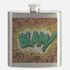 Blam Comic Phrase Flask
