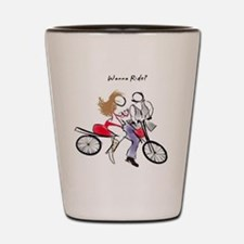 Dykes on Bikes Shot Glass