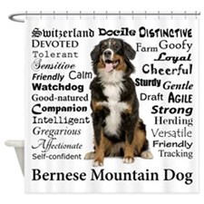 Berner Traits Shower Curtain