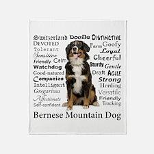 Berner Traits Throw Blanket